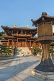 Chinese Temple - Chi Lin Nunnery in Hong Kong - 191138233