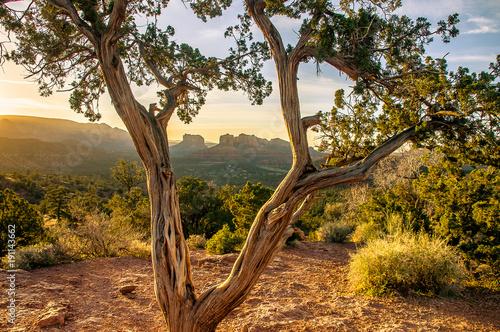 Aluminium Arizona Sedona Sunset