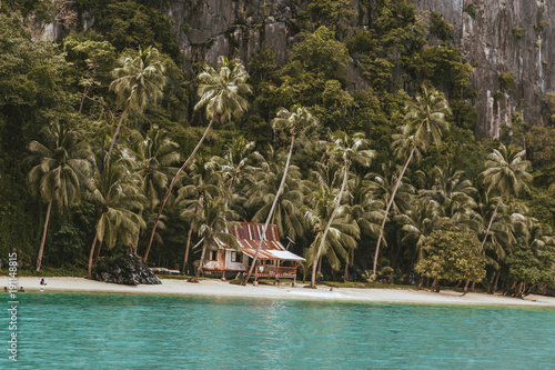 Papiers peints Tropical plage Paradise Beach in The Philippines