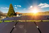 Solar panels, photovoltaic - alternative electricity source - 191154010