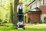 Making the lawn perfectly even - 191155861