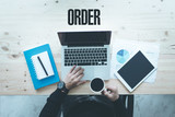 COMMUNICATION TECHNOLOGY BUSINESS AND ORDER CONCEPT - 191158088