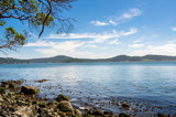 Bay along the Coast of East Sooke Park on a Sunny Summer Morning. Vancouver Island, BC, Canada. - 191170045