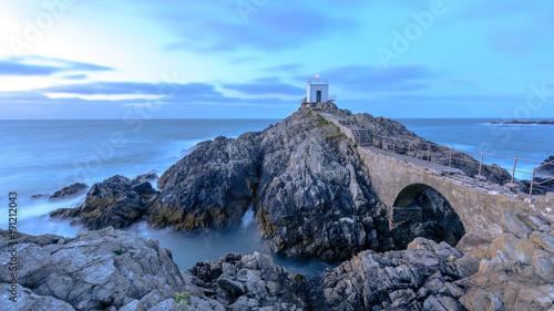 Fotobehang Vuurtoren Guernsey Lighthouse