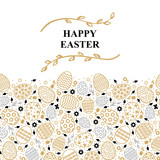 Easter decorative card - 191218222
