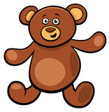 cute teddy bear cartoon toy character