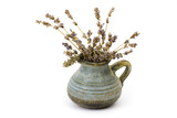 dried lavender in a vase - 191228804