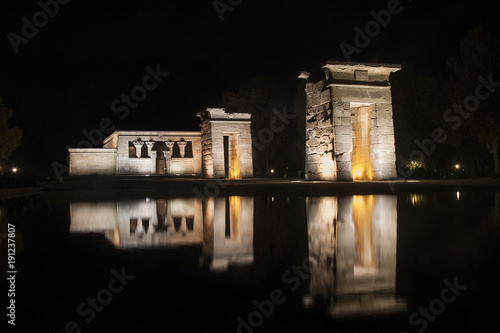 Foto op Canvas Madrid debod temple