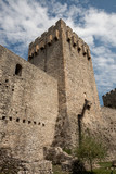 the walls and tower of the old fortress - 191249422