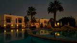 Egipt - Hotel Resort By Night - 191252204