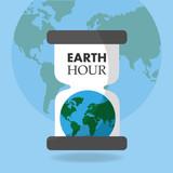 earth hour globe hou...