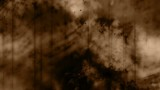 Sepia animated particles and texture grunge style looping background - 191260605