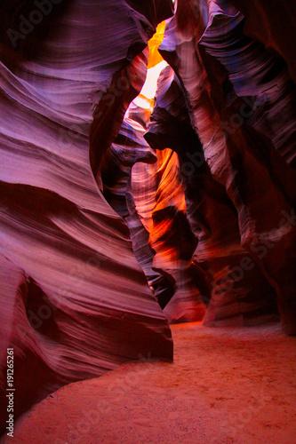 Foto op Canvas Arizona Slot canyon colors