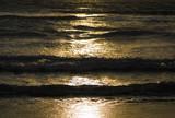 夕暮れ 海 波 素材 - 191278600