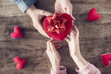 Special love gift from man to woman  - 191287039