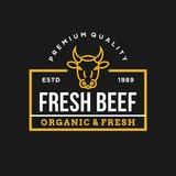 Beef - vector logo/icon illustration mascot - 191292085