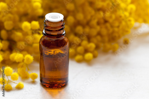 Herbal cosmetics concept