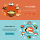 Sushi Flyer Set