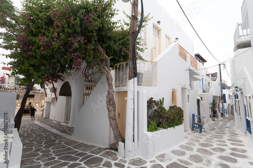 Mykonos on the streets