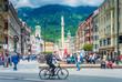 Quadro Maria Theresien Street in Innsbruck, Austria