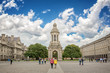 Old bell tower at Trinity College in Dublin, Ireland - 191315636