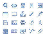 Education Vector Icon Set - 191322287