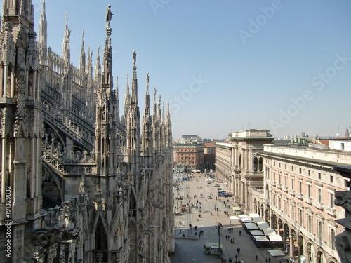 Foto op Plexiglas Milan Mailänder Dom