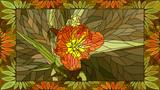 Vector illustration of orange tulip. - 191331473
