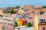 Aerial view of Lisbon, Portugal - 191348884