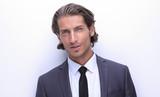 closeup.portrait of confident business man - 191350603