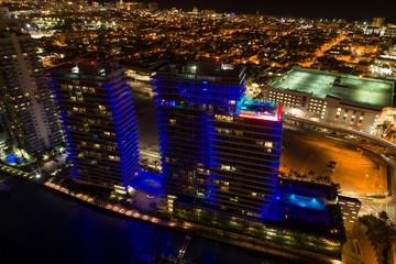 Bentley Bay condominium towers Miami Beach