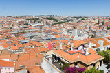 Aerial view of Lisbon, Portugal - 191358204