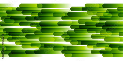 Seamless border with green stripes