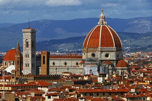 Foto op Plexiglas Florence Traveling Florence, Italy. Duomo