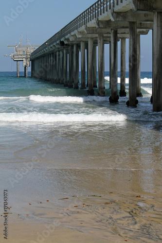 Scripps Pier in San Diego, California