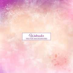 beautiful purple handmade pastel color watercolor background