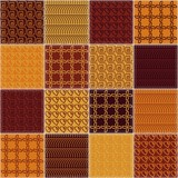 patchwork background with different patterns  - 191373856