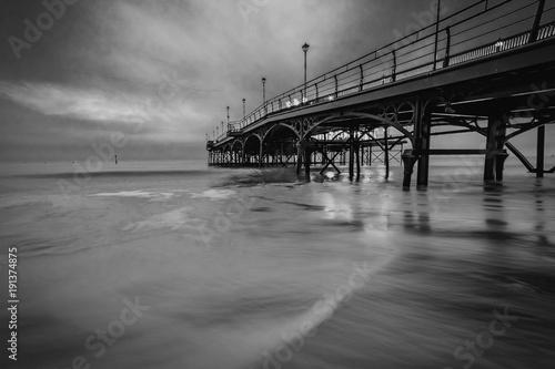 Monochrome Pier