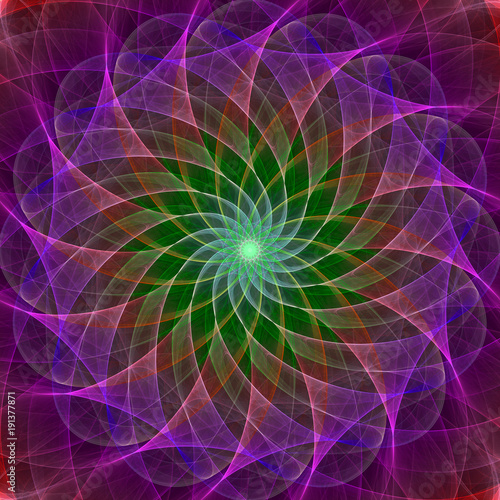 colorful symmetrical abstract background