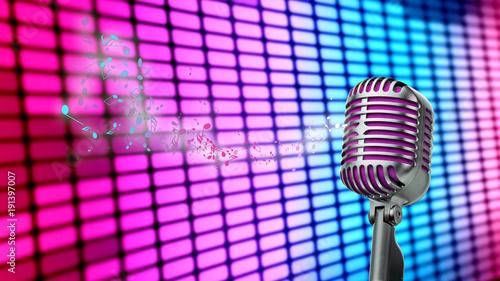 microfono-retro-con-tonos-coloridos