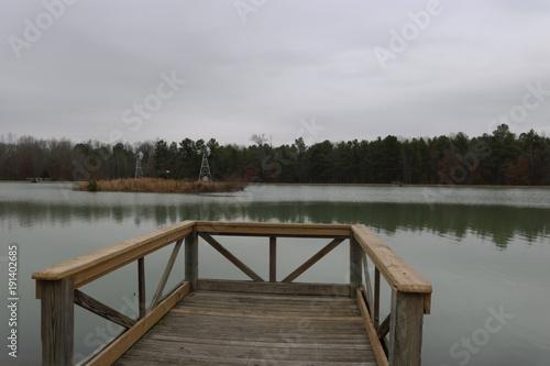 Plexiglas Pier Duck Pond