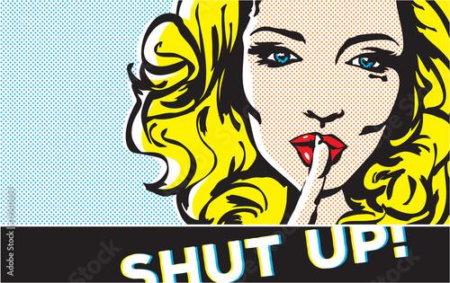 zamknij-sie-gest-pop-artu-kobieta-shhh-kobieta-z-palcem-na-ustach-gest-ciszy-pop-art-banner-w-stylu-kobiety