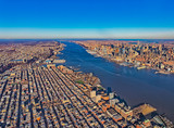 New Jersey New York aerial - 191439472