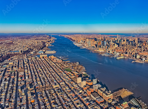 Staande foto New York New Jersey New York aerial