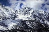 View of Snowy Mountains Near Rock Creek Lake