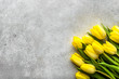Easter background with spring tulips, bouquet for mothers day or flowers for women's day at 8 march - 191456004