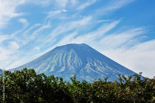 Fotobehang Centraal-Amerika Landen Volcano in Nicaragua