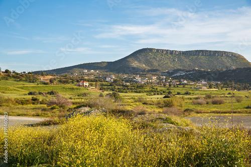 Fotobehang Cyprus Cyprus landscape