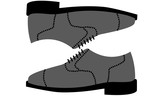 Illustration Icon of pair of men's shoes - 191479620