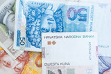 Croatian Kuna currency.Krvatska Kuna notes - 191479822